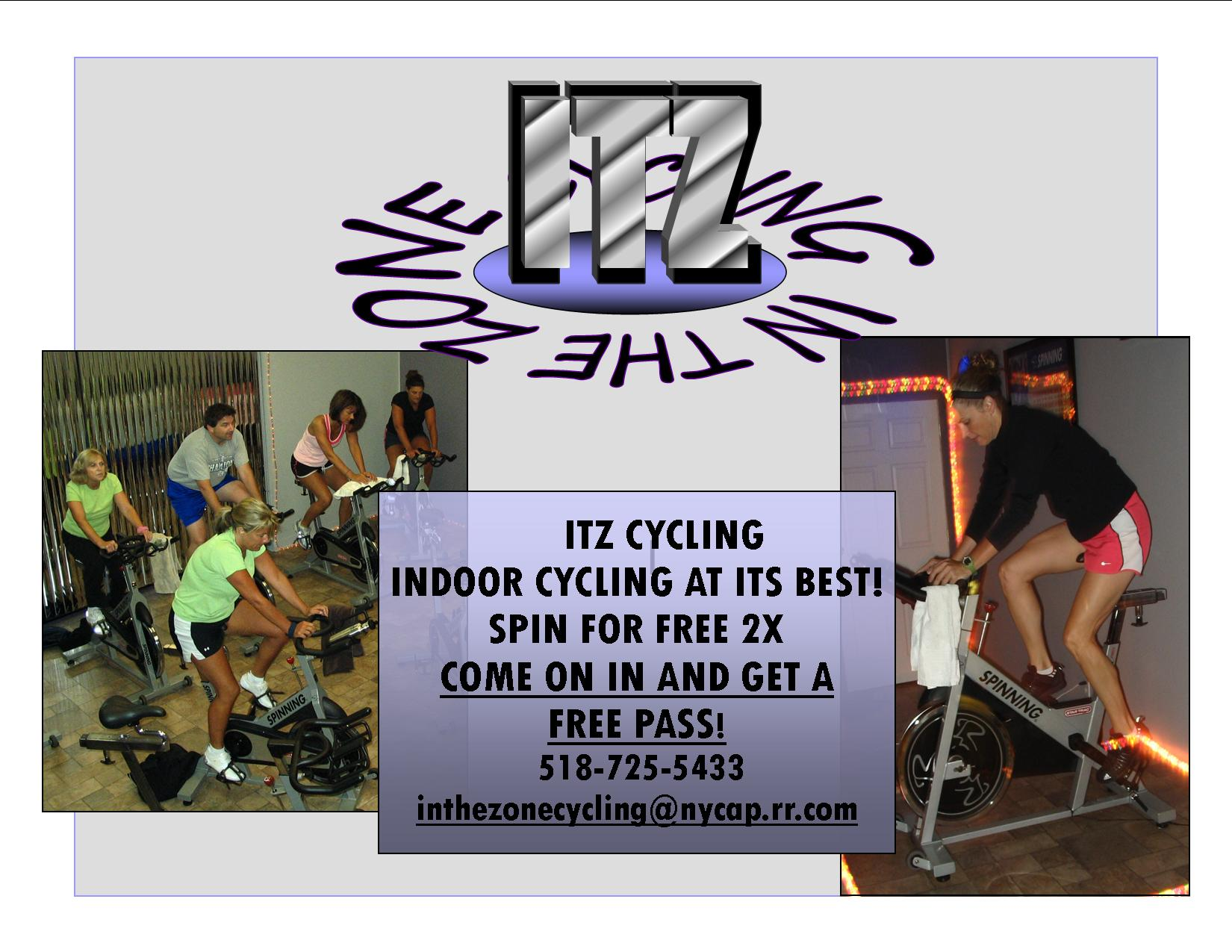 Try out our Offical Spinning Classes at Fit Happens